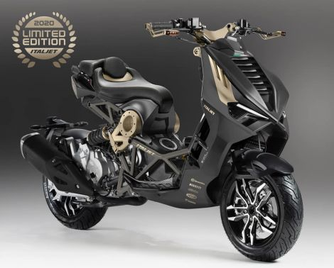 Italjet Dragster 125cc Limited First edition -RASPRODATO