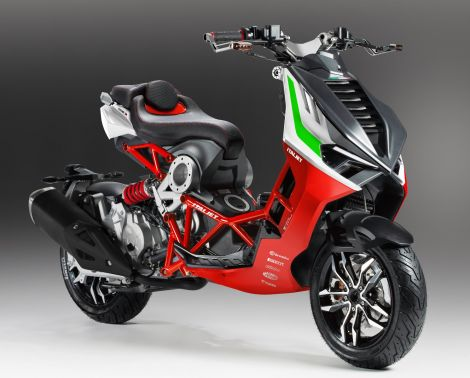 Italjet Dragster 200cc Red edition