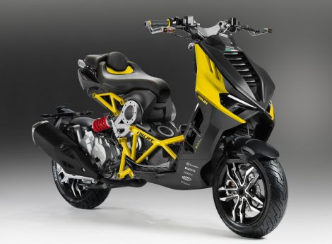 Italjet Dragster 200cc Yellow edition