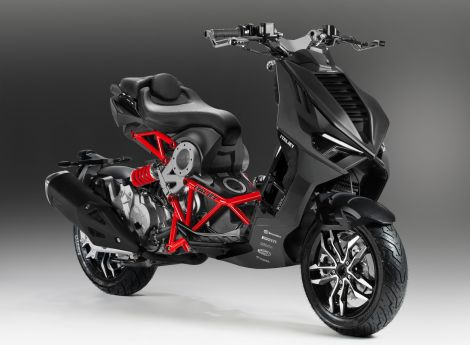 Italjet Dragster 200cc Black edition